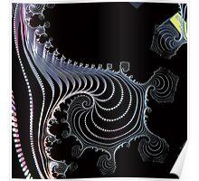 Swirls & curls, Incendia 18 Poster