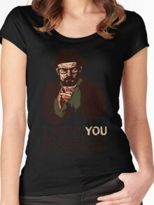 Respect the Chemistry - Breaking Bad Women's Fitted Scoop T-Shirt