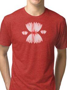 Lotus Petals Tri-blend T-Shirt