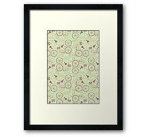 Bicycle Parts Framed Print