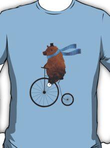 Cheltenham the Bear: Penny farthing fun T-Shirt
