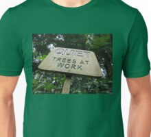 Quiet Trees At Work Unisex T-Shirt
