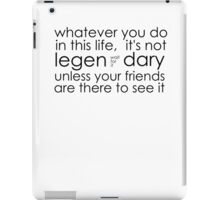 awesome friends. iPad Case/Skin