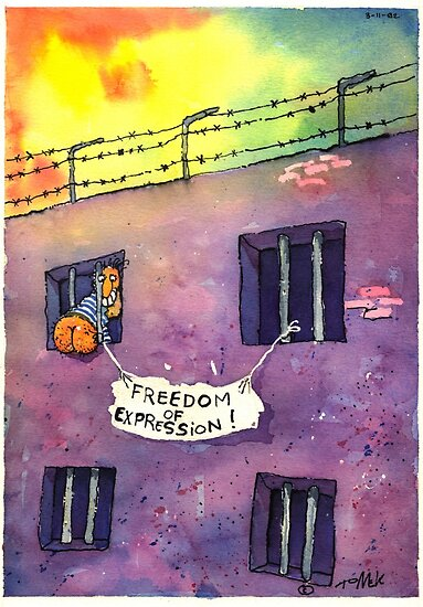 Freedom of Expression by T o m e k