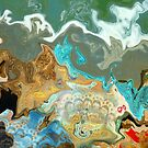 Ocean Ripples (Another concept for a painting) by Cate Townsend