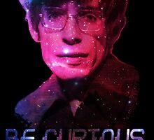 Stephen Hawking: Be Curious by RetroNomad