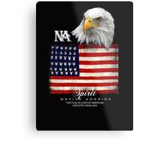 native american eagle Metal Print