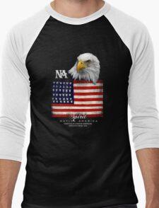 native american eagle Men's Baseball ¾ T-Shirt