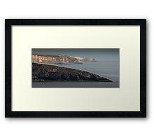 South Glamorgan Heritage coast Framed Print