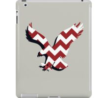 Chevron Auburn Eagle iPad Case/Skin