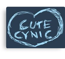 Cute Cynic Canvas Print