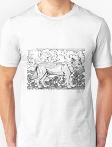 Rose And Wolf T-Shirt