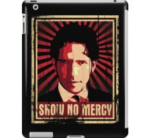 Show No Mercy poster - distressed iPad Case/Skin