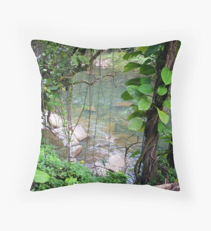 Rainforest Throw Pillow