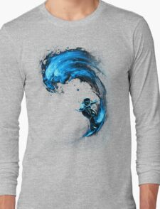 Space Surfing Long Sleeve T-Shirt