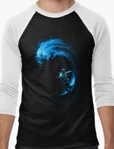Space Surfing Men's Baseball ¾ T-Shirt