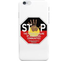 OFFICIAL MERCHANDISE - #SOSBLAKAUSTRALIA design 4 iPhone Case/Skin