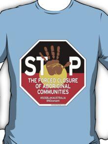 OFFICIAL MERCHANDISE - #SOSBLAKAUSTRALIA design 4 T-Shirt