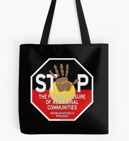 OFFICIAL MERCHANDISE - #SOSBLAKAUSTRALIA design 4 Tote Bag
