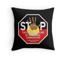 OFFICIAL MERCHANDISE - #SOSBLAKAUSTRALIA design 4 Throw Pillow