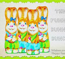 Funny Bunny Bunch Happy Easter by patjila