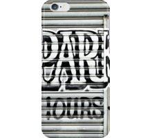 No Parking Graffiti iPhone Case/Skin