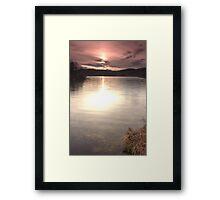 Loch nam Bad Framed Print