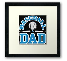 Baseball Dad Framed Print