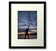 Who wants to live forever? Framed Print