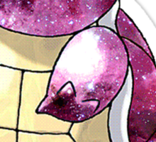 Squirtle Nebula Sticker