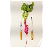 Sliced - Beetroot Poster