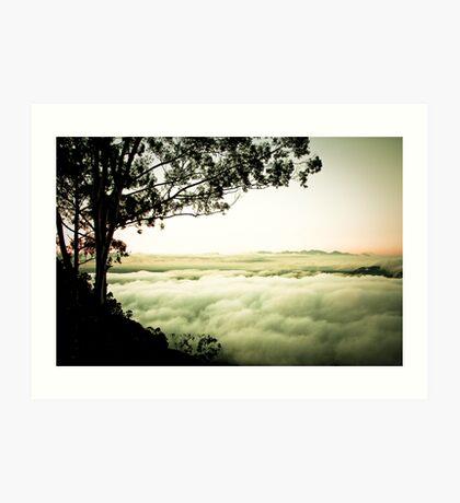 Above the Clouds, Zomba, Malawi Art Print