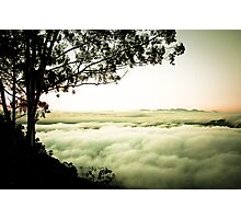 Above the Clouds, Zomba, Malawi Photographic Print