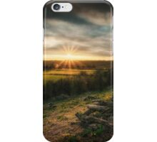 Sunset In The Shire iPhone Case/Skin