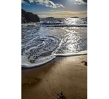 Abersoch calm after the storm MBBK Photographic Print