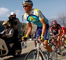 Alberto Contador, Paris-Nice 2009 by Eamon Fitzpatrick