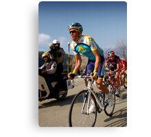 Alberto Contador, Paris-Nice 2009 Canvas Print