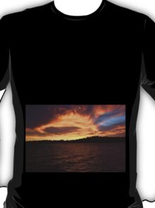 Dawsville at the end of sunset  T-Shirt