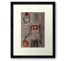 Baller Framed Print
