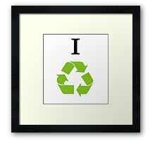 irecycle Framed Print