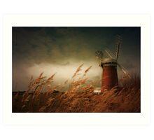 Horsey Mill, Norfolk Art Print