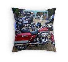 Harleys Throw Pillow