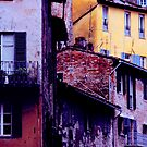Perugia Houses by Virginia Maguire