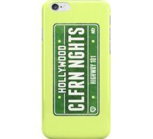 California Nights - Highway 101 iPhone Case/Skin