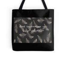 Skip sleep Tote Bag