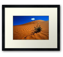 Perry Sand Dune Framed Print