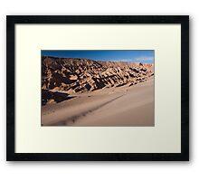 Valle de la muerte Framed Print