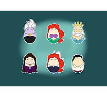 Little Mermaid Tiggles Photographic Print