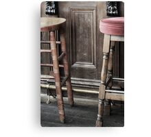 Waiting for a pint Canvas Print