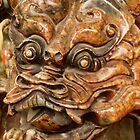 Carvings In Jade - 3 - A Dragon's Face © by © Hany G. Jadaa © Prince John Photography